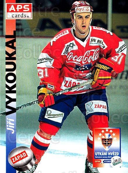 1996-97 Czech APS Extraliga #387 Jiri Vykoukal<br/>2 In Stock - $2.00 each - <a href=https://centericecollectibles.foxycart.com/cart?name=1996-97%20Czech%20APS%20Extraliga%20%23387%20Jiri%20Vykoukal...&quantity_max=2&price=$2.00&code=608579 class=foxycart> Buy it now! </a>