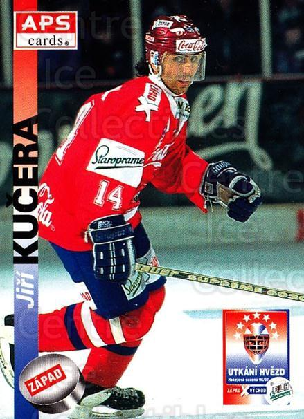 1996-97 Czech APS Extraliga #390 Jiri Kucera<br/>1 In Stock - $2.00 each - <a href=https://centericecollectibles.foxycart.com/cart?name=1996-97%20Czech%20APS%20Extraliga%20%23390%20Jiri%20Kucera...&quantity_max=1&price=$2.00&code=608582 class=foxycart> Buy it now! </a>