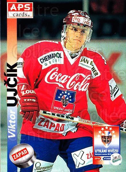 1996-97 Czech APS Extraliga #391 Viktor Ujcik<br/>3 In Stock - $2.00 each - <a href=https://centericecollectibles.foxycart.com/cart?name=1996-97%20Czech%20APS%20Extraliga%20%23391%20Viktor%20Ujcik...&quantity_max=3&price=$2.00&code=608583 class=foxycart> Buy it now! </a>