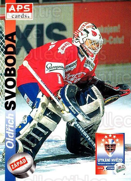 1996-97 Czech APS Extraliga #392 Oldrich Svoboda<br/>1 In Stock - $2.00 each - <a href=https://centericecollectibles.foxycart.com/cart?name=1996-97%20Czech%20APS%20Extraliga%20%23392%20Oldrich%20Svoboda...&quantity_max=1&price=$2.00&code=608584 class=foxycart> Buy it now! </a>
