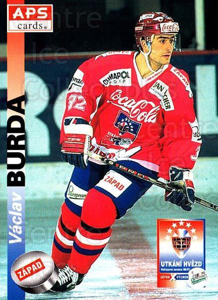 1996-97 Czech APS Extraliga #393 Vaclav Burda<br/>1 In Stock - $2.00 each - <a href=https://centericecollectibles.foxycart.com/cart?name=1996-97%20Czech%20APS%20Extraliga%20%23393%20Vaclav%20Burda...&quantity_max=1&price=$2.00&code=608585 class=foxycart> Buy it now! </a>