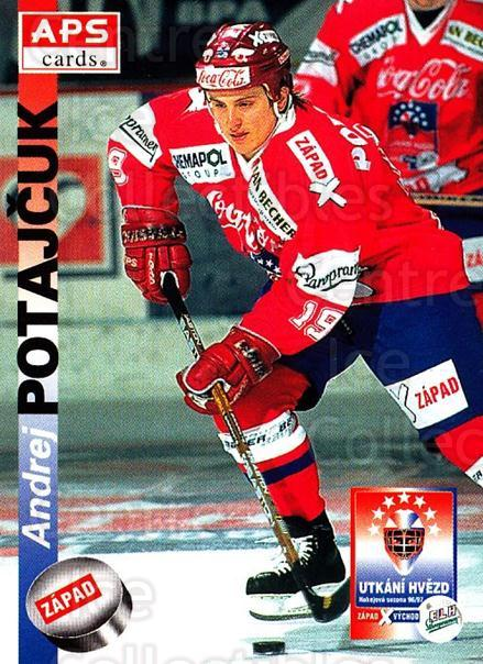 1996-97 Czech APS Extraliga #395 Andrej Potajcuk<br/>1 In Stock - $2.00 each - <a href=https://centericecollectibles.foxycart.com/cart?name=1996-97%20Czech%20APS%20Extraliga%20%23395%20Andrej%20Potajcuk...&quantity_max=1&price=$2.00&code=608587 class=foxycart> Buy it now! </a>
