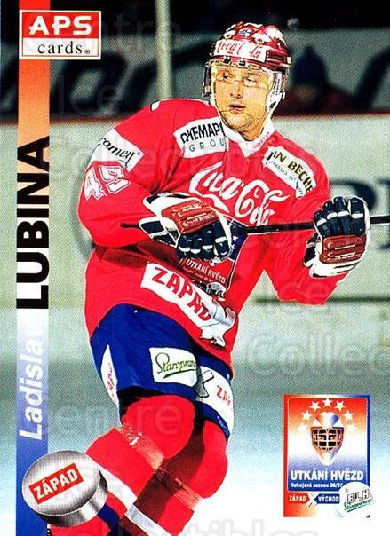 1996-97 Czech APS Extraliga #396 Ladislav Lubina<br/>1 In Stock - $2.00 each - <a href=https://centericecollectibles.foxycart.com/cart?name=1996-97%20Czech%20APS%20Extraliga%20%23396%20Ladislav%20Lubina...&quantity_max=1&price=$2.00&code=608588 class=foxycart> Buy it now! </a>