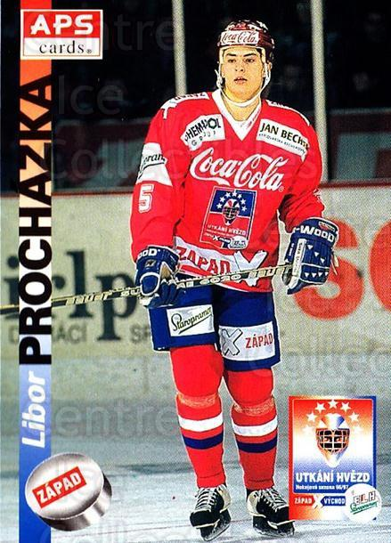1996-97 Czech APS Extraliga #398 Libor Prochazka<br/>3 In Stock - $2.00 each - <a href=https://centericecollectibles.foxycart.com/cart?name=1996-97%20Czech%20APS%20Extraliga%20%23398%20Libor%20Prochazka...&quantity_max=3&price=$2.00&code=608590 class=foxycart> Buy it now! </a>
