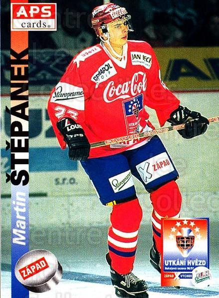 1996-97 Czech APS Extraliga #399 Martin Stepanek<br/>2 In Stock - $2.00 each - <a href=https://centericecollectibles.foxycart.com/cart?name=1996-97%20Czech%20APS%20Extraliga%20%23399%20Martin%20Stepanek...&quantity_max=2&price=$2.00&code=608591 class=foxycart> Buy it now! </a>