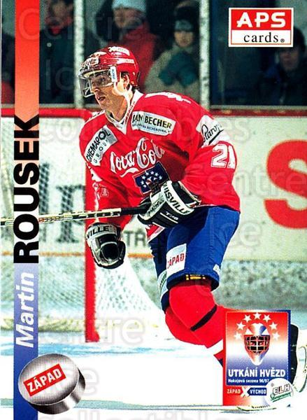 1996-97 Czech APS Extraliga #402 Martin Rousek<br/>3 In Stock - $2.00 each - <a href=https://centericecollectibles.foxycart.com/cart?name=1996-97%20Czech%20APS%20Extraliga%20%23402%20Martin%20Rousek...&quantity_max=3&price=$2.00&code=608594 class=foxycart> Buy it now! </a>
