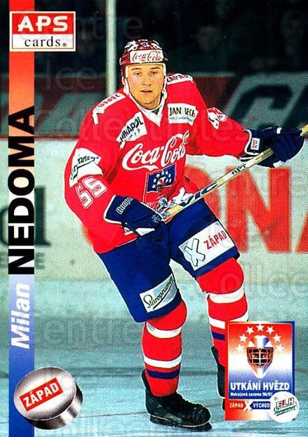 1996-97 Czech APS Extraliga #404 Milan Nedoma<br/>2 In Stock - $2.00 each - <a href=https://centericecollectibles.foxycart.com/cart?name=1996-97%20Czech%20APS%20Extraliga%20%23404%20Milan%20Nedoma...&quantity_max=2&price=$2.00&code=608596 class=foxycart> Buy it now! </a>