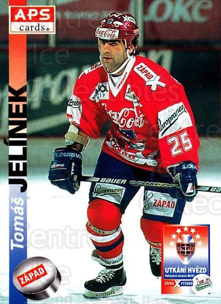 1996-97 Czech APS Extraliga #405 Tomas Jelinek<br/>2 In Stock - $2.00 each - <a href=https://centericecollectibles.foxycart.com/cart?name=1996-97%20Czech%20APS%20Extraliga%20%23405%20Tomas%20Jelinek...&quantity_max=2&price=$2.00&code=608597 class=foxycart> Buy it now! </a>
