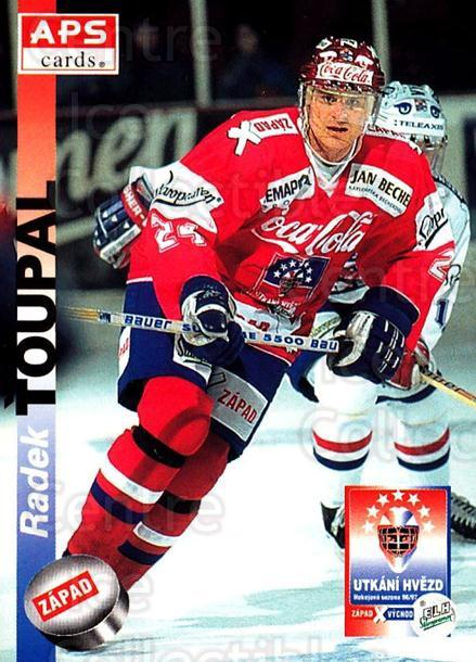 1996-97 Czech APS Extraliga #406 Radek Toupal<br/>1 In Stock - $2.00 each - <a href=https://centericecollectibles.foxycart.com/cart?name=1996-97%20Czech%20APS%20Extraliga%20%23406%20Radek%20Toupal...&quantity_max=1&price=$2.00&code=608598 class=foxycart> Buy it now! </a>