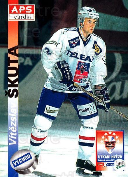 1996-97 Czech APS Extraliga #410 Vitezslav Skuta<br/>2 In Stock - $2.00 each - <a href=https://centericecollectibles.foxycart.com/cart?name=1996-97%20Czech%20APS%20Extraliga%20%23410%20Vitezslav%20Skuta...&quantity_max=2&price=$2.00&code=608602 class=foxycart> Buy it now! </a>