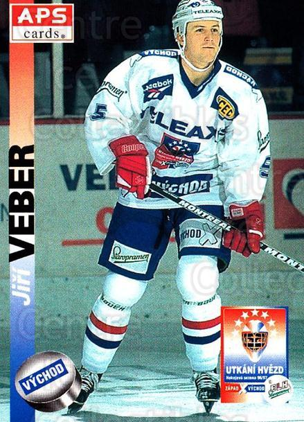1996-97 Czech APS Extraliga #411 Jiri Veber<br/>1 In Stock - $2.00 each - <a href=https://centericecollectibles.foxycart.com/cart?name=1996-97%20Czech%20APS%20Extraliga%20%23411%20Jiri%20Veber...&quantity_max=1&price=$2.00&code=608603 class=foxycart> Buy it now! </a>