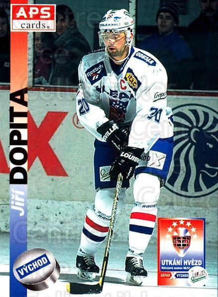 1996-97 Czech APS Extraliga #413 Jiri Dopita<br/>1 In Stock - $2.00 each - <a href=https://centericecollectibles.foxycart.com/cart?name=1996-97%20Czech%20APS%20Extraliga%20%23413%20Jiri%20Dopita...&quantity_max=1&price=$2.00&code=608605 class=foxycart> Buy it now! </a>