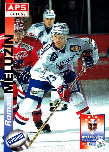 1996-97 Czech APS Extraliga #414 Roman Meluzin<br/>1 In Stock - $2.00 each - <a href=https://centericecollectibles.foxycart.com/cart?name=1996-97%20Czech%20APS%20Extraliga%20%23414%20Roman%20Meluzin...&quantity_max=1&price=$2.00&code=608606 class=foxycart> Buy it now! </a>