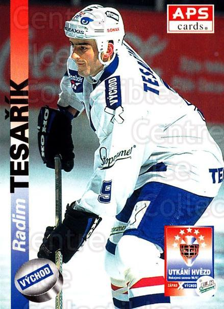 1996-97 Czech APS Extraliga #417 Radim Tesarik<br/>2 In Stock - $2.00 each - <a href=https://centericecollectibles.foxycart.com/cart?name=1996-97%20Czech%20APS%20Extraliga%20%23417%20Radim%20Tesarik...&quantity_max=2&price=$2.00&code=608609 class=foxycart> Buy it now! </a>