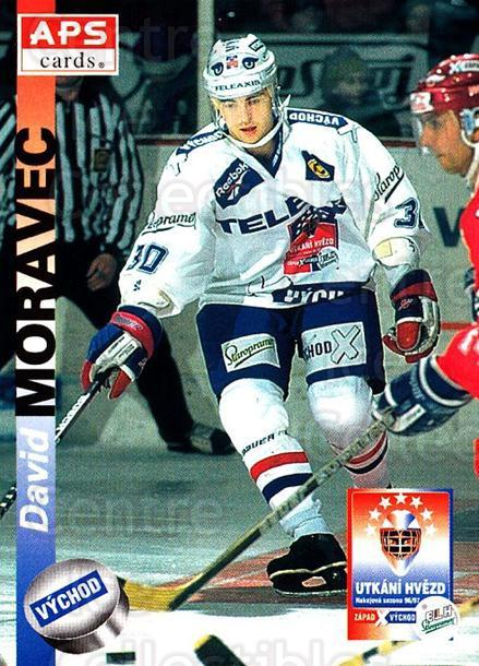 1996-97 Czech APS Extraliga #418 David Moravec<br/>1 In Stock - $2.00 each - <a href=https://centericecollectibles.foxycart.com/cart?name=1996-97%20Czech%20APS%20Extraliga%20%23418%20David%20Moravec...&quantity_max=1&price=$2.00&code=608610 class=foxycart> Buy it now! </a>