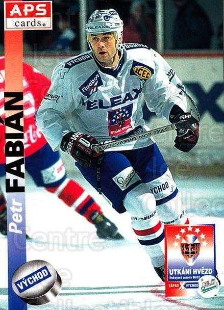 1996-97 Czech APS Extraliga #424 Petr Fabian<br/>3 In Stock - $2.00 each - <a href=https://centericecollectibles.foxycart.com/cart?name=1996-97%20Czech%20APS%20Extraliga%20%23424%20Petr%20Fabian...&quantity_max=3&price=$2.00&code=608616 class=foxycart> Buy it now! </a>