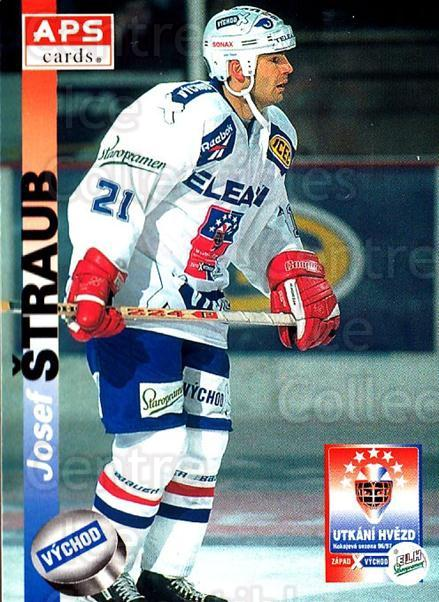 1996-97 Czech APS Extraliga #428 Josef Straub<br/>3 In Stock - $2.00 each - <a href=https://centericecollectibles.foxycart.com/cart?name=1996-97%20Czech%20APS%20Extraliga%20%23428%20Josef%20Straub...&quantity_max=3&price=$2.00&code=608620 class=foxycart> Buy it now! </a>