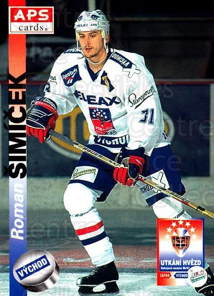 1996-97 Czech APS Extraliga #429 Roman Simicek<br/>2 In Stock - $2.00 each - <a href=https://centericecollectibles.foxycart.com/cart?name=1996-97%20Czech%20APS%20Extraliga%20%23429%20Roman%20Simicek...&quantity_max=2&price=$2.00&code=608621 class=foxycart> Buy it now! </a>