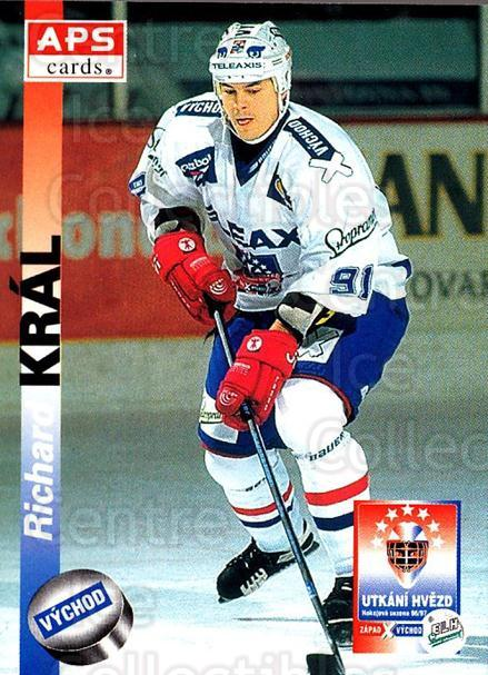 1996-97 Czech APS Extraliga #430 Richard Kral<br/>3 In Stock - $2.00 each - <a href=https://centericecollectibles.foxycart.com/cart?name=1996-97%20Czech%20APS%20Extraliga%20%23430%20Richard%20Kral...&quantity_max=3&price=$2.00&code=608622 class=foxycart> Buy it now! </a>