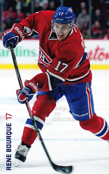 2013-14 Montreal Canadiens Postcards Stanley Cup #4 Rene Bourque<br/>2 In Stock - $3.00 each - <a href=https://centericecollectibles.foxycart.com/cart?name=2013-14%20Montreal%20Canadiens%20Postcards%20Stanley%20Cup%20%234%20Rene%20Bourque...&quantity_max=2&price=$3.00&code=608677 class=foxycart> Buy it now! </a>