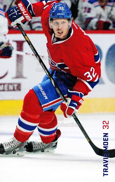 2013-14 Montreal Canadiens Postcards Stanley Cup #16 Travis Moen<br/>3 In Stock - $3.00 each - <a href=https://centericecollectibles.foxycart.com/cart?name=2013-14%20Montreal%20Canadiens%20Postcards%20Stanley%20Cup%20%2316%20Travis%20Moen...&quantity_max=3&price=$3.00&code=608689 class=foxycart> Buy it now! </a>