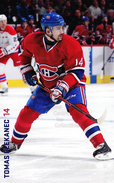 2013-14 Montreal Canadiens Postcards Stanley Cup #19 Tomas Plekanec<br/>3 In Stock - $3.00 each - <a href=https://centericecollectibles.foxycart.com/cart?name=2013-14%20Montreal%20Canadiens%20Postcards%20Stanley%20Cup%20%2319%20Tomas%20Plekanec...&quantity_max=3&price=$3.00&code=608692 class=foxycart> Buy it now! </a>