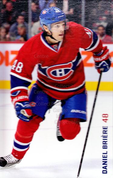 2013-14 Montreal Canadiens Postcards #1 Daniel Briere<br/>3 In Stock - $3.00 each - <a href=https://centericecollectibles.foxycart.com/cart?name=2013-14%20Montreal%20Canadiens%20Postcards%20%231%20Daniel%20Briere...&quantity_max=3&price=$3.00&code=608704 class=foxycart> Buy it now! </a>