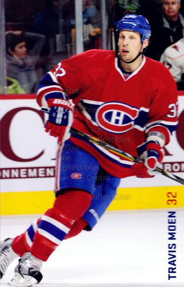 2013-14 Montreal Canadiens Postcards #16 Travis Moen<br/>5 In Stock - $3.00 each - <a href=https://centericecollectibles.foxycart.com/cart?name=2013-14%20Montreal%20Canadiens%20Postcards%20%2316%20Travis%20Moen...&quantity_max=5&price=$3.00&code=608719 class=foxycart> Buy it now! </a>