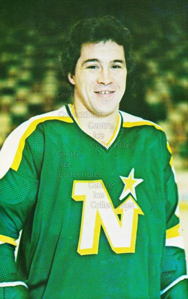 1980-81 Minnesota North Stars Postcards #2 Fred Barrett<br/>2 In Stock - $3.00 each - <a href=https://centericecollectibles.foxycart.com/cart?name=1980-81%20Minnesota%20North%20Stars%20Postcards%20%232%20Fred%20Barrett...&quantity_max=2&price=$3.00&code=608731 class=foxycart> Buy it now! </a>