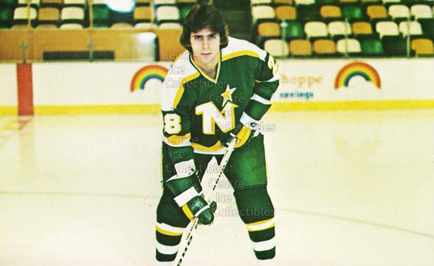 1980-81 Minnesota North Stars Postcards #5 Steve Christoff<br/>1 In Stock - $3.00 each - <a href=https://centericecollectibles.foxycart.com/cart?name=1980-81%20Minnesota%20North%20Stars%20Postcards%20%235%20Steve%20Christoff...&quantity_max=1&price=$3.00&code=608734 class=foxycart> Buy it now! </a>