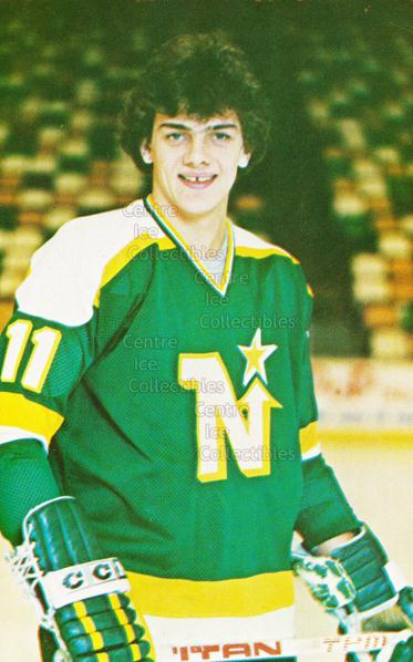 1980-81 Minnesota North Stars Postcards #12 Tom McCarthy<br/>1 In Stock - $3.00 each - <a href=https://centericecollectibles.foxycart.com/cart?name=1980-81%20Minnesota%20North%20Stars%20Postcards%20%2312%20Tom%20McCarthy...&quantity_max=1&price=$3.00&code=608741 class=foxycart> Buy it now! </a>