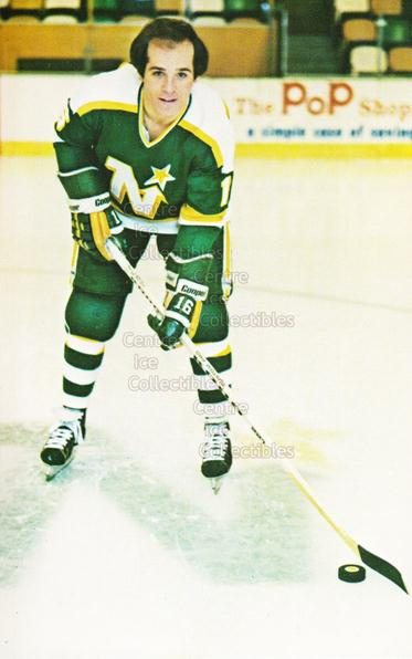 1980-81 Minnesota North Stars Postcards #15 Mike Polich<br/>1 In Stock - $3.00 each - <a href=https://centericecollectibles.foxycart.com/cart?name=1980-81%20Minnesota%20North%20Stars%20Postcards%20%2315%20Mike%20Polich...&quantity_max=1&price=$3.00&code=608744 class=foxycart> Buy it now! </a>
