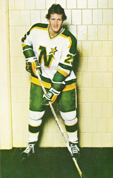 1980-81 Minnesota North Stars Postcards #20 Greg Smith<br/>2 In Stock - $3.00 each - <a href=https://centericecollectibles.foxycart.com/cart?name=1980-81%20Minnesota%20North%20Stars%20Postcards%20%2320%20Greg%20Smith...&quantity_max=2&price=$3.00&code=608749 class=foxycart> Buy it now! </a>