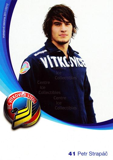 2011-12 Czech HC Vitkovice Steel Postcards #12 Petr Strapac<br/>3 In Stock - $3.00 each - <a href=https://centericecollectibles.foxycart.com/cart?name=2011-12%20Czech%20HC%20Vitkovice%20Steel%20Postcards%20%2312%20Petr%20Strapac...&quantity_max=3&price=$3.00&code=608765 class=foxycart> Buy it now! </a>