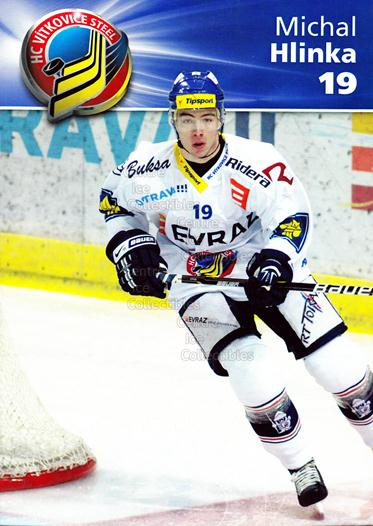 2010-11 Czech HC Vitkovice Steel Postcards #2 Michal Hlinka<br/>2 In Stock - $3.00 each - <a href=https://centericecollectibles.foxycart.com/cart?name=2010-11%20Czech%20HC%20Vitkovice%20Steel%20Postcards%20%232%20Michal%20Hlinka...&quantity_max=2&price=$3.00&code=608788 class=foxycart> Buy it now! </a>