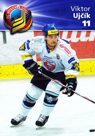 2010-11 Czech HC Vitkovice Steel Postcards #6 Viktor Ujcik<br/>3 In Stock - $3.00 each - <a href=https://centericecollectibles.foxycart.com/cart?name=2010-11%20Czech%20HC%20Vitkovice%20Steel%20Postcards%20%236%20Viktor%20Ujcik...&quantity_max=3&price=$3.00&code=608792 class=foxycart> Buy it now! </a>
