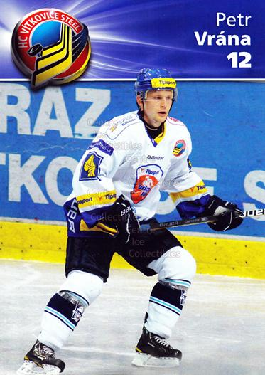 2010-11 Czech HC Vitkovice Steel Postcards #7 Petr Vrana<br/>1 In Stock - $3.00 each - <a href=https://centericecollectibles.foxycart.com/cart?name=2010-11%20Czech%20HC%20Vitkovice%20Steel%20Postcards%20%237%20Petr%20Vrana...&quantity_max=1&price=$3.00&code=608793 class=foxycart> Buy it now! </a>