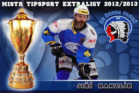2012-13 Czech HC Plzen Team Issue #4 Jiri Hanzlik<br/>2 In Stock - $3.00 each - <a href=https://centericecollectibles.foxycart.com/cart?name=2012-13%20Czech%20HC%20Plzen%20Team%20Issue%20%234%20Jiri%20Hanzlik...&quantity_max=2&price=$3.00&code=608865 class=foxycart> Buy it now! </a>