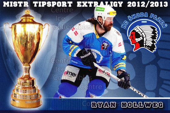2012-13 Czech HC Plzen Team Issue #5 Ryan Hollweg<br/>1 In Stock - $3.00 each - <a href=https://centericecollectibles.foxycart.com/cart?name=2012-13%20Czech%20HC%20Plzen%20Team%20Issue%20%235%20Ryan%20Hollweg...&quantity_max=1&price=$3.00&code=608866 class=foxycart> Buy it now! </a>