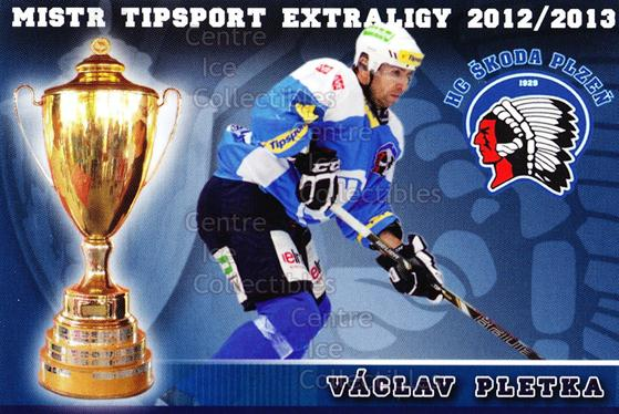 2012-13 Czech HC Plzen Team Issue #15 Vaclav Pletka<br/>1 In Stock - $3.00 each - <a href=https://centericecollectibles.foxycart.com/cart?name=2012-13%20Czech%20HC%20Plzen%20Team%20Issue%20%2315%20Vaclav%20Pletka...&quantity_max=1&price=$3.00&code=608876 class=foxycart> Buy it now! </a>