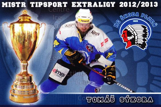2012-13 Czech HC Plzen Team Issue #22 Tomas Sykora<br/>2 In Stock - $3.00 each - <a href=https://centericecollectibles.foxycart.com/cart?name=2012-13%20Czech%20HC%20Plzen%20Team%20Issue%20%2322%20Tomas%20Sykora...&quantity_max=2&price=$3.00&code=608883 class=foxycart> Buy it now! </a>