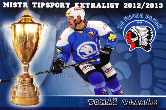 2012-13 Czech HC Plzen Team Issue #25 Tomas Vlasak<br/>1 In Stock - $3.00 each - <a href=https://centericecollectibles.foxycart.com/cart?name=2012-13%20Czech%20HC%20Plzen%20Team%20Issue%20%2325%20Tomas%20Vlasak...&quantity_max=1&price=$3.00&code=608886 class=foxycart> Buy it now! </a>