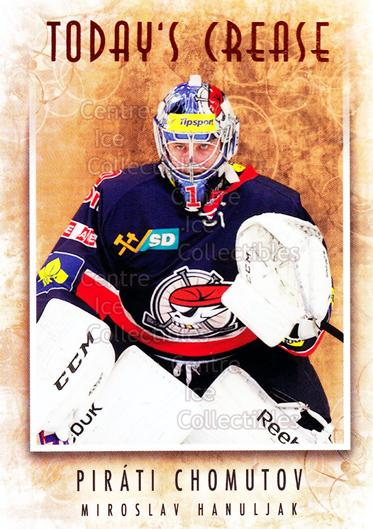 2013-14 Czech OFS Masked Stories #135 Miroslav Hanuljak<br/>2 In Stock - $2.00 each - <a href=https://centericecollectibles.foxycart.com/cart?name=2013-14%20Czech%20OFS%20Masked%20Stories%20%23135%20Miroslav%20Hanulj...&quantity_max=2&price=$2.00&code=609023 class=foxycart> Buy it now! </a>