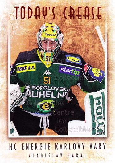 2013-14 Czech OFS Masked Stories #145 Vladislav Habal<br/>1 In Stock - $2.00 each - <a href=https://centericecollectibles.foxycart.com/cart?name=2013-14%20Czech%20OFS%20Masked%20Stories%20%23145%20Vladislav%20Habal...&quantity_max=1&price=$2.00&code=609033 class=foxycart> Buy it now! </a>