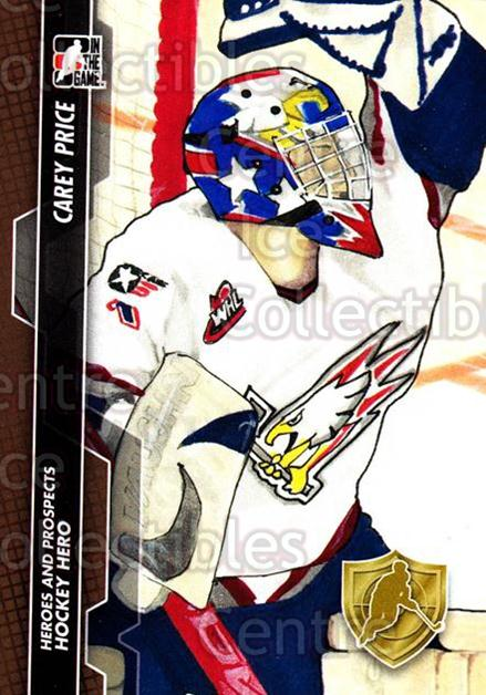2013-14 ITG Heroes and Prospects #125 Carey Price<br/>34 In Stock - $1.00 each - <a href=https://centericecollectibles.foxycart.com/cart?name=2013-14%20ITG%20Heroes%20and%20Prospects%20%23125%20Carey%20Price...&price=$1.00&code=609249 class=foxycart> Buy it now! </a>