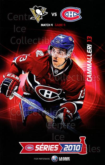 2009-10 Montreal Canadiens Line-Up Cards Playoffs #1 Michael Cammalleri<br/>2 In Stock - $10.00 each - <a href=https://centericecollectibles.foxycart.com/cart?name=2009-10%20Montreal%20Canadiens%20Line-Up%20Cards%20Playoffs%20%231%20Michael%20Cammall...&quantity_max=2&price=$10.00&code=609574 class=foxycart> Buy it now! </a>