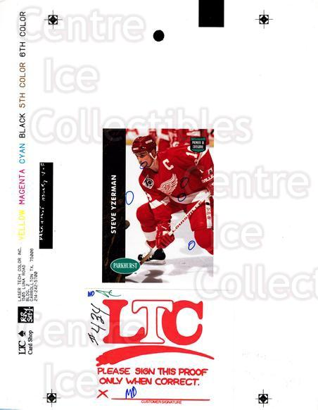1991-92 Parkhurst French Match Print #434 Steve Yzerman<br/>1 In Stock - $50.00 each - <a href=https://centericecollectibles.foxycart.com/cart?name=1991-92%20Parkhurst%20French%20Match%20Print%20%23434%20Steve%20Yzerman...&price=$50.00&code=609841 class=foxycart> Buy it now! </a>