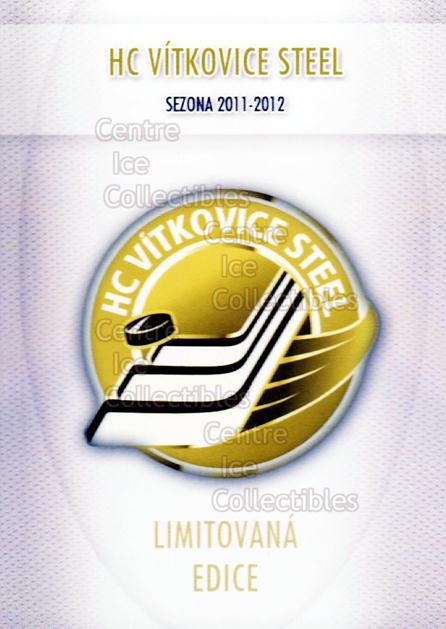 2011-12 Czech HC Vitkovice Steel Team Issue Gold #0 Header Card, Checklist<br/>1 In Stock - $3.00 each - <a href=https://centericecollectibles.foxycart.com/cart?name=2011-12%20Czech%20HC%20Vitkovice%20Steel%20Team%20Issue%20Gold%20%230%20Header%20Card,%20Ch...&price=$3.00&code=610677 class=foxycart> Buy it now! </a>