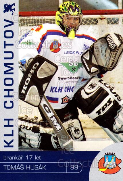 2003-04 Czech KLH Chomutov Team Issue #8 Tomas Husak<br/>1 In Stock - $3.00 each - <a href=https://centericecollectibles.foxycart.com/cart?name=2003-04%20Czech%20KLH%20Chomutov%20Team%20Issue%20%238%20Tomas%20Husak...&quantity_max=1&price=$3.00&code=610810 class=foxycart> Buy it now! </a>