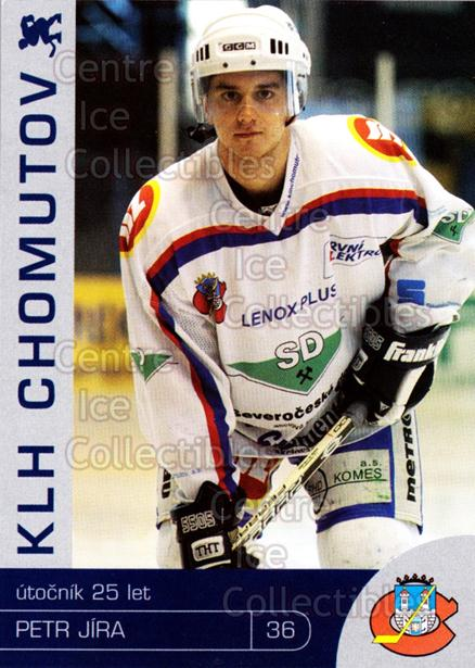 2003-04 Czech KLH Chomutov Team Issue #11 Petr Jira<br/>1 In Stock - $3.00 each - <a href=https://centericecollectibles.foxycart.com/cart?name=2003-04%20Czech%20KLH%20Chomutov%20Team%20Issue%20%2311%20Petr%20Jira...&quantity_max=1&price=$3.00&code=610813 class=foxycart> Buy it now! </a>